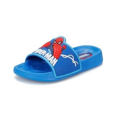 Spider-Man Terlik Mavi